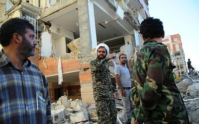 جهاد طلاب در مناطق زلزله زده کرمانشاه