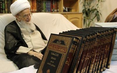 رونمایی از موسوعه ۱۳ جلدی علامه محمدحسین کاشف الغطاء