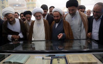 افتتاح موزه دین و دنیا در مسجد جمکران با حضور آیتالله نوری همدانی