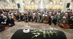 40 تصویر از مراسم تشییع آیتالله مؤمن تا مراسم بزرگداشت در مسجد اعظم