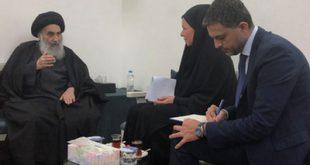 دفاع تاریخی آیتالله سیستانی از ایران/ عراق نمیپذیرد مرکزی برای آسیب رساندن به کشورهای دیگر باشد