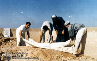تدفین مجدد شهید آیتالله سید محمدباقر صدر در دوران صدام به روایت تصاویر