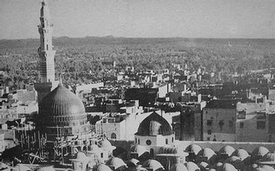 معماری مسجد نبوی چگونه بود؟