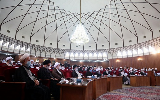 تصاویری از مراسم آغاز سال تحصیلی جدید حوزههای علمیه قم