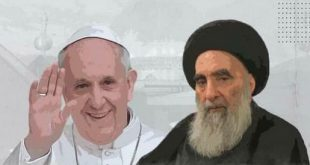 «محور مقاومت» در دیدار مرجعیت دینی نجف با پاپ/ ماجد الشویلی