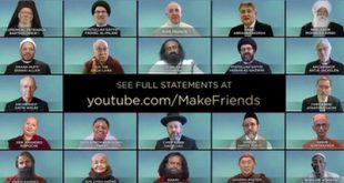 درخواست رهبران عالیرتبۀ مذهبی از مردم جهان