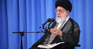 تصاویر درس خارج فقه آیتالله خامنهای در آغاز سال تحصیلی جدید