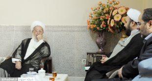 دیدار مدیران شبکه اجتهاد با آیتالله مکارم شیرازی