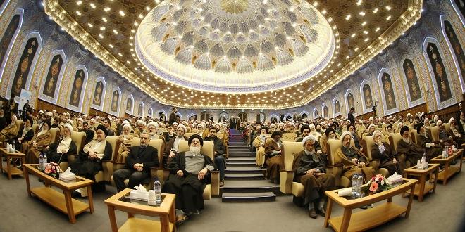 گزارشی از مراسم بزرگداشت آیتالله میلانی(ره) مرزبان سترگ اندیشه اسلامی